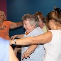 Spiral Dance older people dancing