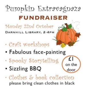 Darnhill fundraiser poster