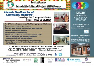 Invitation 20th  Aug 2013