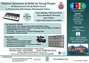 Positive Outcomes & Skills for Young People